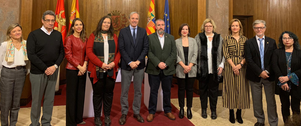 La AVT firma un procolo de colaboración con el Ayuntamiento de Zaragoza