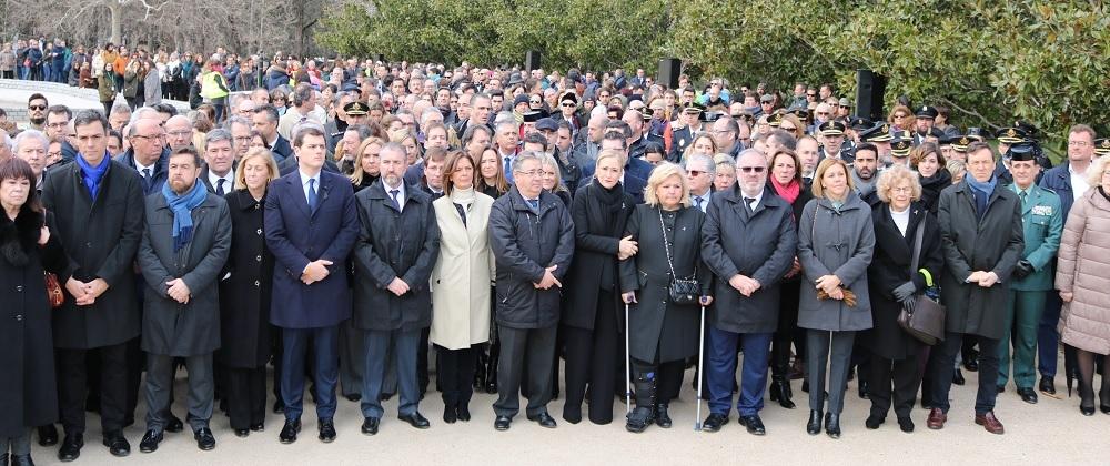 Madrid rinde homenaje a las víctimas del terrorismo en su Día Europeo