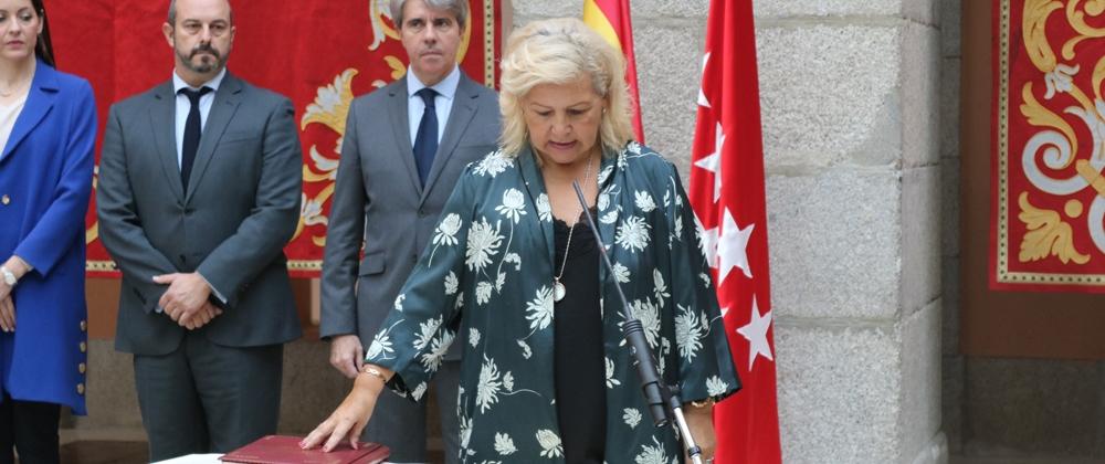 Ángeles Pedraza toma posesión como Comisionada de las Víctimas del Terrorismo de la Comunidad de Madrid