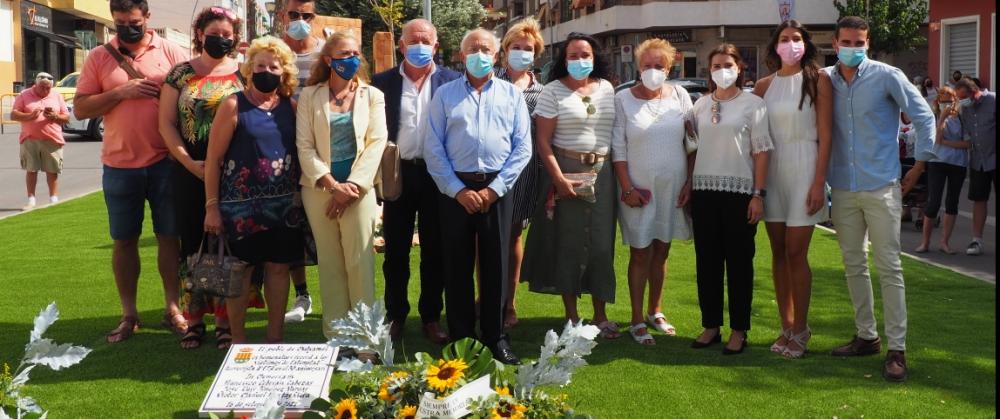 La AVT acude a un homenaje en Muchamiel