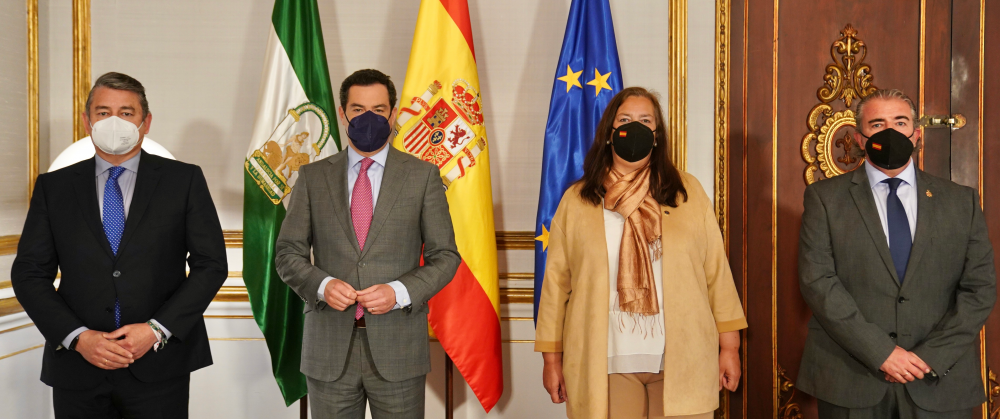 La AVT se reúne con el Presidente de la Junta de Andalucía