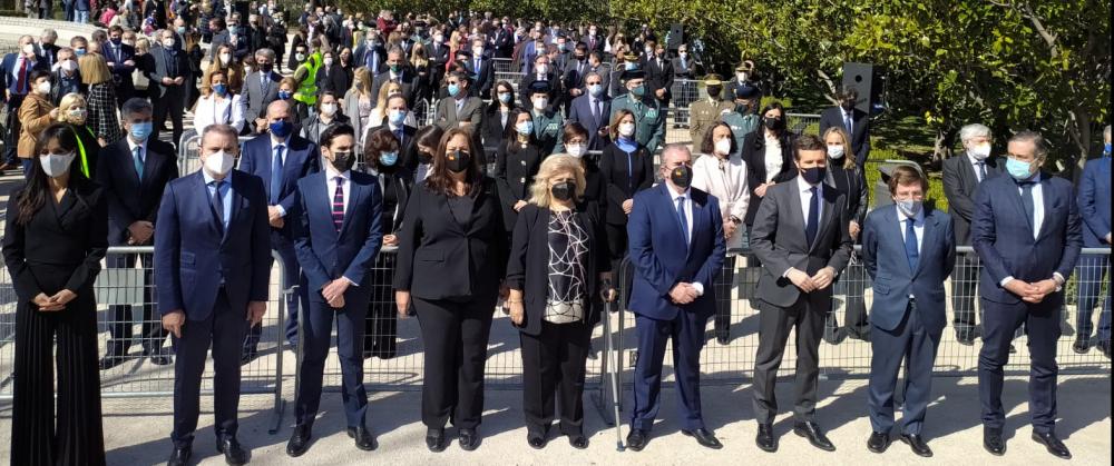 La AVT celebra su  tradicional homenaje a las víctimas del terrorismo en su Día Europeo con un recuerdo especial al 17 aniversario del 11M