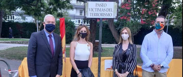 Homenaje a las víctimas del terrorismo en Avilés