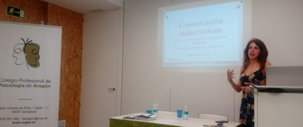 La AVT forma a  psicólogos en Aragón