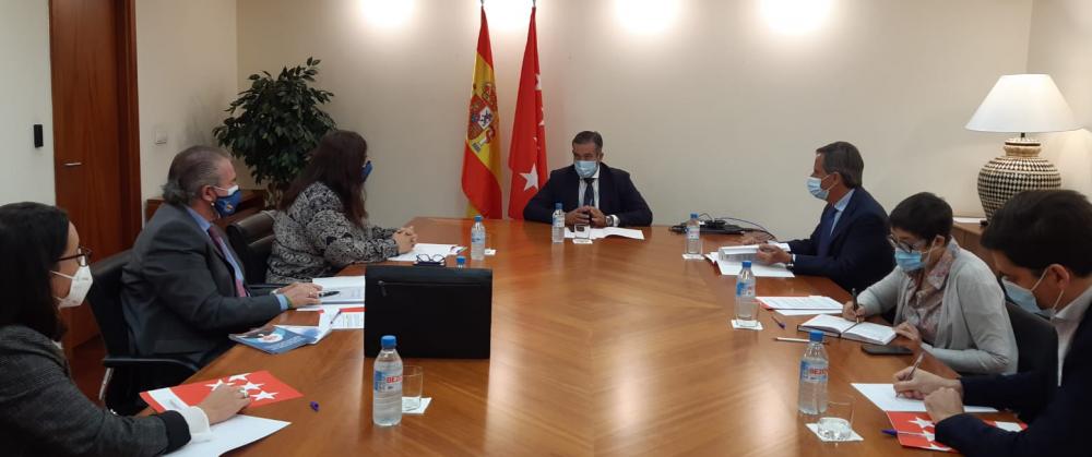 La AVT se reúne con la Consejería de Justicia, Interior y Víctimas de la Comunidad de Madrid