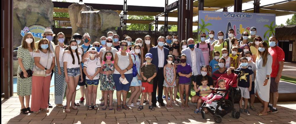 Refrescante jornada de ocio terapéutico en Aquopolis Villanueva de la Cañada