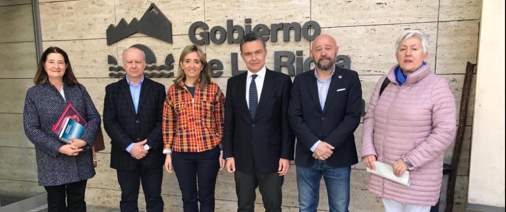 Reunión con el Gobierno de La Rioja sobre el borrador del Reglamento de la Ley de Víctimas del Terrorismo  4/2018
