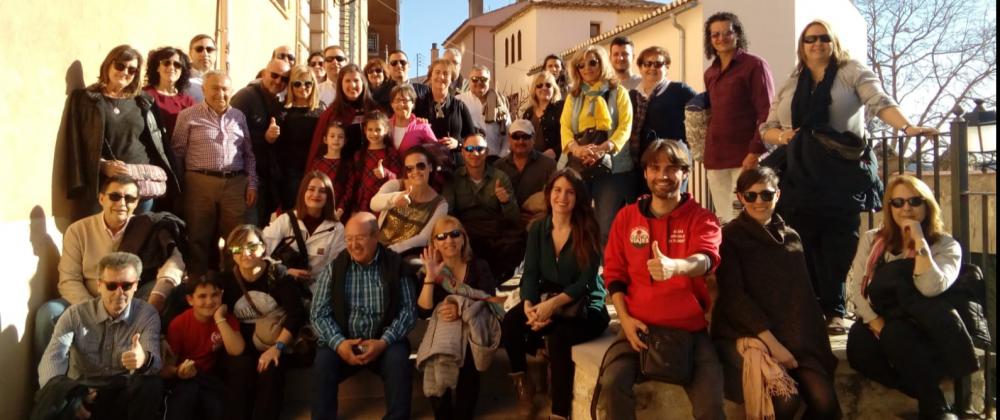 Asociados disfrutan de una visita teatralizada en Cuenca