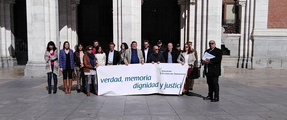 Día Europeo de las Víctimas del terrorismo en Valladolid