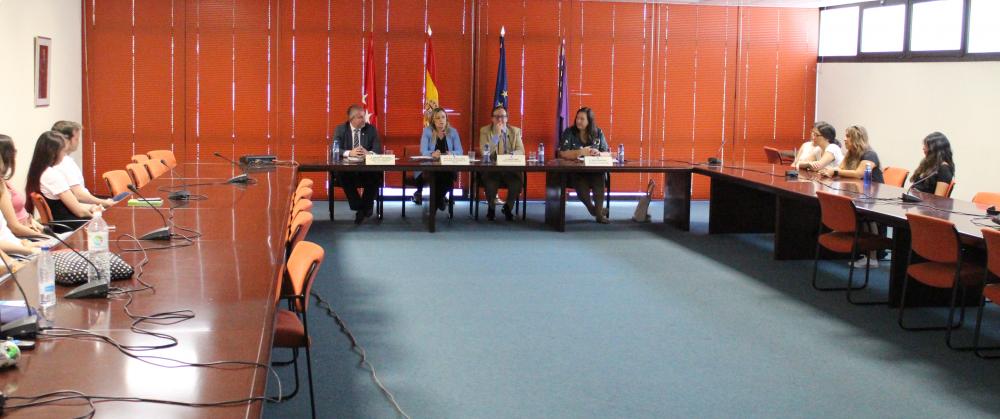 Inauguración de la VII edición del Diploma de Atención psicológica a víctimas de atentados terroristas