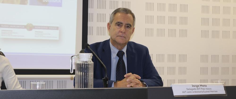 Intervención de Jorge Mota en las Jornadas de San Sebastián