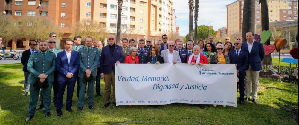 Día Europeo de las Víctimas del terrorismo en Badajoz