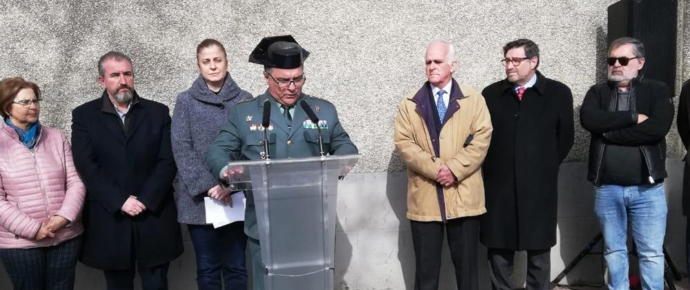 La AVT rinde homenaje a las víctimas del terrorismo en Chamberí
