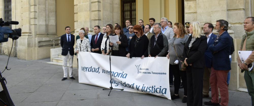 Día Europeo de las Víctimas del terrorismo en Sevilla