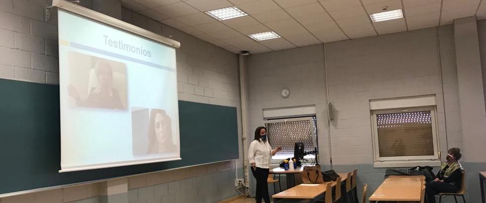 Charla de la AVT a los alumnos de la Universidad de Alcalá de Henares