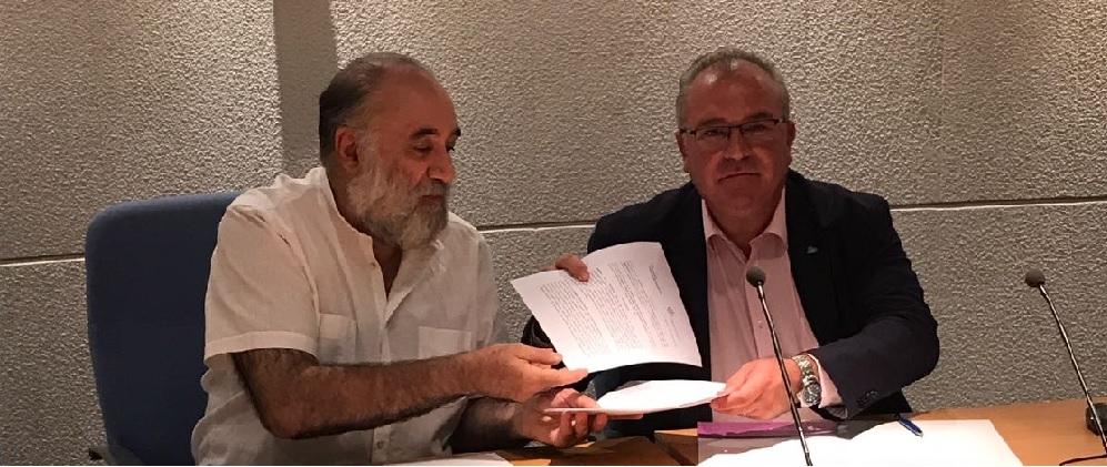 La AVT refuerza la atención psicológica a las víctimas con un convenio con el Colegio Oficial de Psicólogos de la Comunidad Valenciana