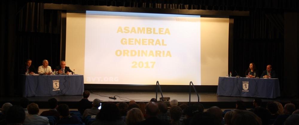 La Asamblea General Ordinaria de la AVT aprueba la gestión de Alfonso Sánchez y su Junta Directiva