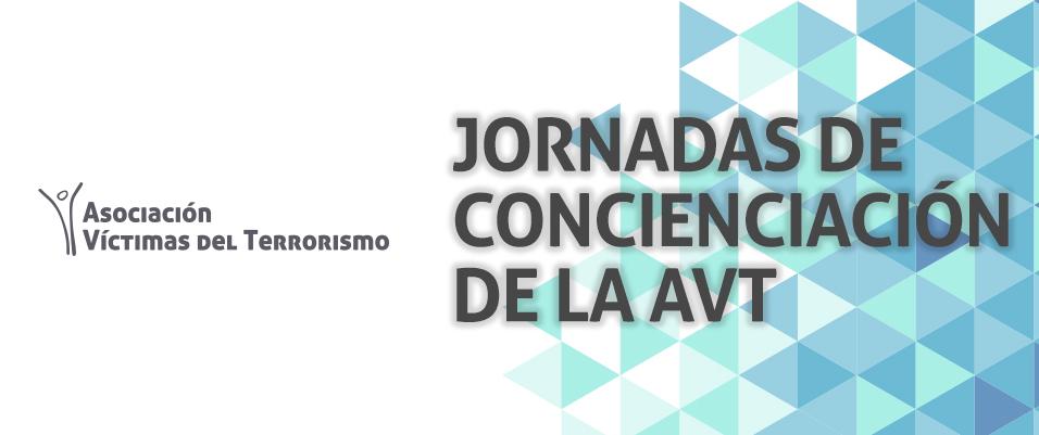 Próximas jornadas de concienciación de la AVT