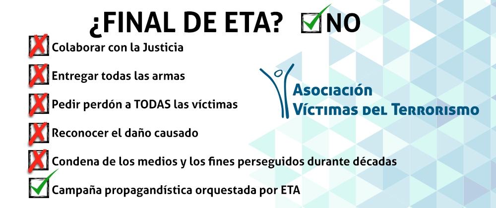 ETA sigue humillando a las víctimas, esta vez por boca de un terrorista huido