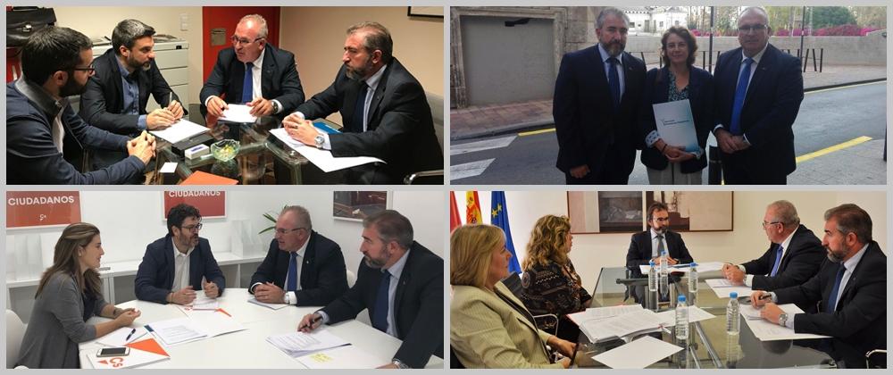 Jornada institucional de la AVT en la Región de Murcia