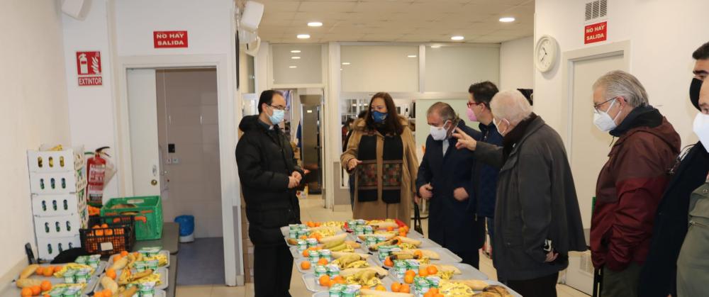 La AVT culmina su campaña solidaria de recogida de productos de primera necesidad