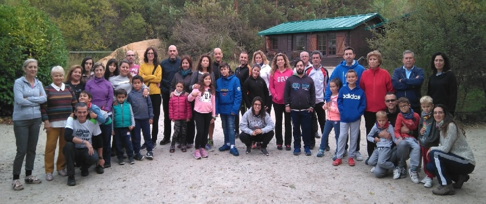 Convivencia familiar en Bustarviejo