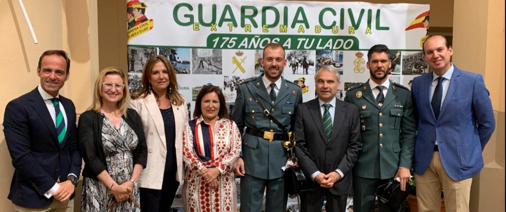 La AVT presente en la celebración del 175 aniversario de la Guardia Civil