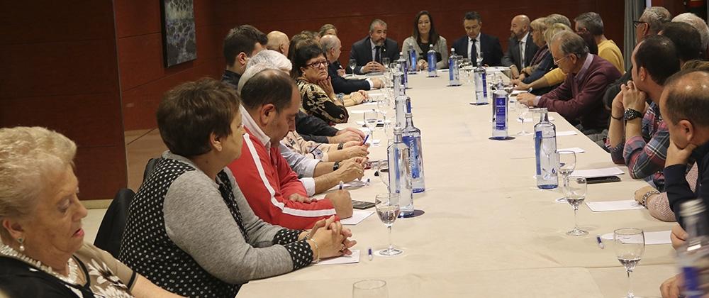 Reunión de asociados y ofrenda floral en La Rioja