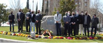 La AVT conmemora el 11M en Guadalajara