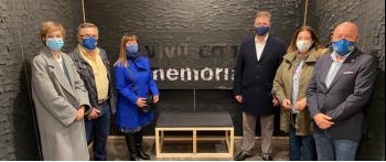 La exposición de la AVT 'Vivir sin miedo, vivir con memoria' triunfa en Logroño