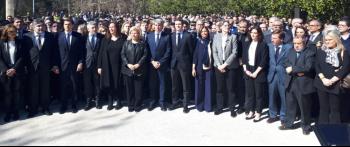 Madrid rinde homenaje a las víctimas del terrorismo en su Día Europeo con un recuerdo especial al 15 aniversario del 11M