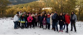 Fin de semana de ocio terapéutico y respiro familiar en Cercedilla