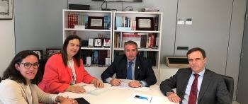 La Presidenta de la AVT Maite Araluce se reúne con el Presidente de la Audiencia Nacional