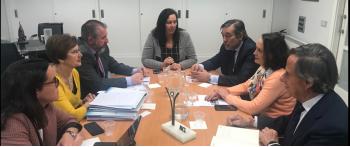 La AVT recibe la visita del Consejero de Justicia, Interior y Víctimas de la CAM