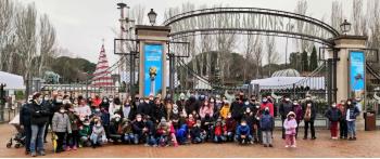 Jornada de convivencia en el Parque de Atracciones de Madrid