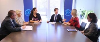 La AVT traslada a Partido Popular su posicionamiento y trabajo en materia de víctimas y reivindicaciones en política antiterrorista