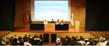 """Jornadas de """"Derechos humanos y lucha contra el terrorismo"""