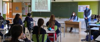 Charla de concienciación en Logroño
