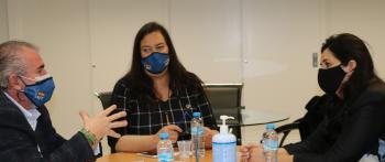 Reunión de trabajo con la nueva Comisionada para la Atención a las Víctimas del Terrorismo de la CAM