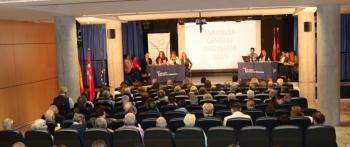 La Asamblea General Ordinaria de la AVT aprueba la gestión de Maite Araluce  y su Junta Directiva