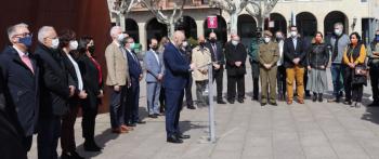 Logroño recuerda a las víctimas del terrorismo en su día europeo