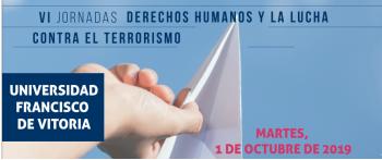 La AVT celebra las Jornadas Lucha contra el terrorismo y derechos humanos en la UFV el 1 de octubre