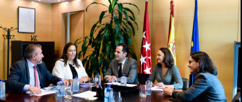 La AVT traslada al Vicepresidente de la Comunidad de Madrid sus inquietudes en materia de víctimas del terrorismo
