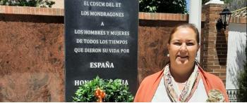 La AVT asiste en Granada a la inauguración de un monumento a los caídos por la Patria