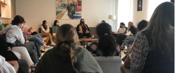 Charla de concienciación en el Centro Universitario Fresneda de Madrid