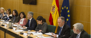 Reunión de asociaciones de víctimas del terrorismo en Interior