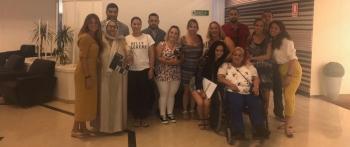 Reunión con asociados en Ceuta
