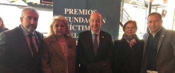 La Asociación Víctimas del Terrorismo asiste a los premios de la FVT