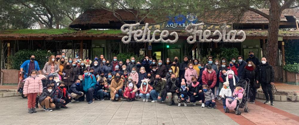 Jornada de ocio terapéutico en el Zoo Aquarium de Madrid