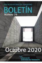 Boletín AVT 29. Octubre 2020